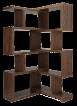 Walnut Shelf Unit