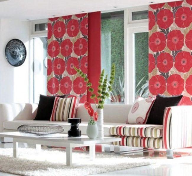 Decorating with fabrics