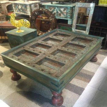 Antique Door Coffee Table