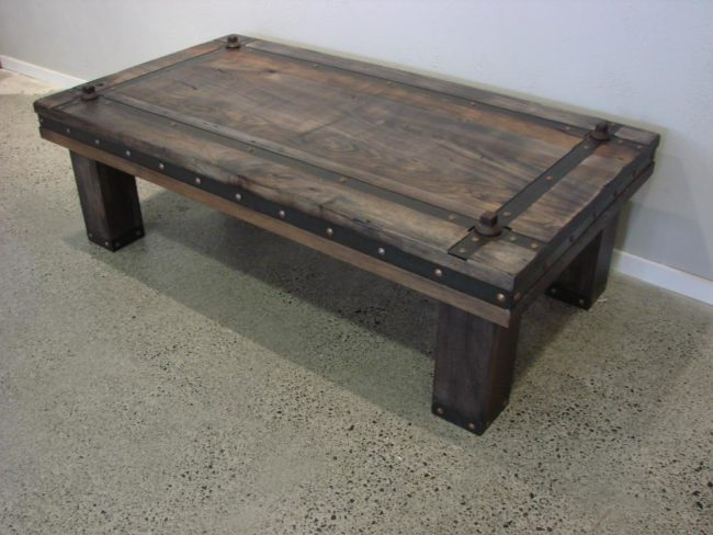 Castle Door Coffee Table