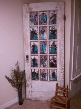 Antique Door Picture Frame
