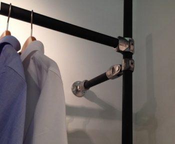 Black Pipe Clothing Rack