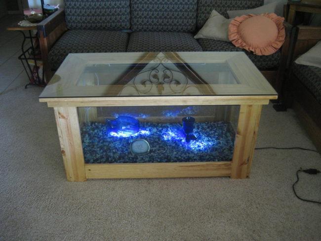 Cheap Aquarium Fish Tank Coffee Table