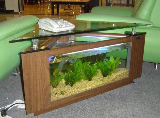 Custom Fish Tank Coffee Table