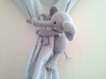 Elephant Curtain Tie Backs