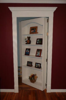 Hidden Door Picture Frame