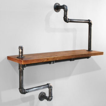 Pipe Bookshelf Assembly