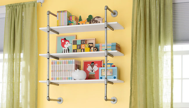 Pipe Frame Bookshelf