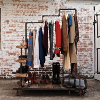 Pipe and Flange Clothing Rack