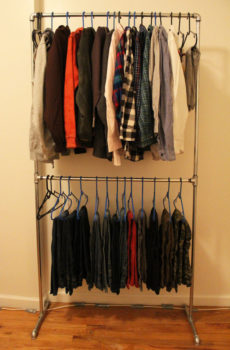 Plumbing Pipe Clothes Rack