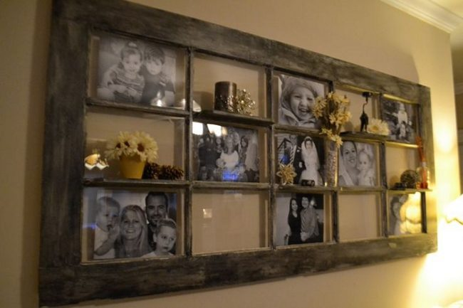Rustic Door Picture Frame