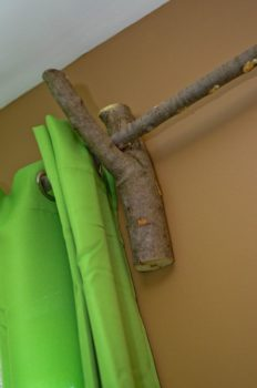 Tree Branch Curtain Rod Accessories