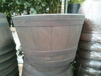 Costco Wine Barrel Planter