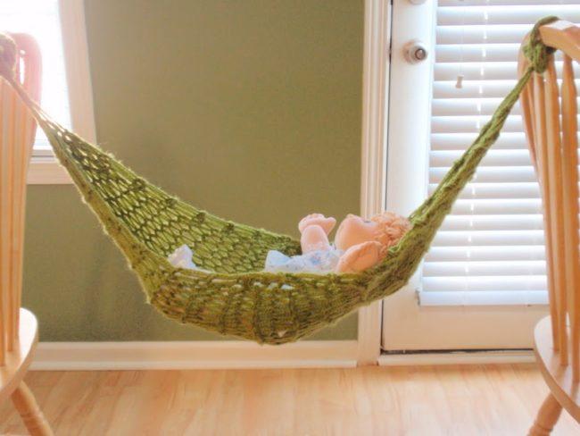 Crochet Pattern For Baby Hammock : 30 Crochet Hammock Free Patterns Inhabit Zone