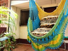 Crochet Hammock Chair Pattern Free