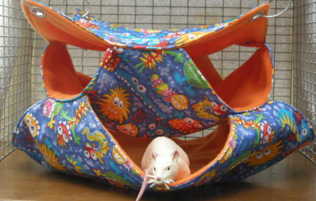 Crochet Rat Hammock