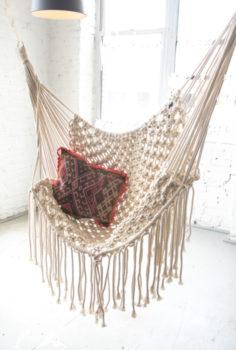 DIY Macramé Hammock Chair