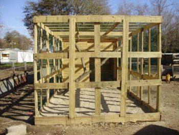 DIY Wood Pallet Chicken Coop