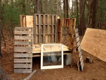 Free Pallet Wood Chicken Coop Building Plans