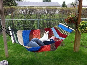 Knitting A Hammock