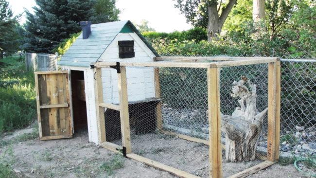 Pallet Build Chicken Coop