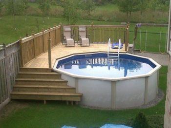 Pallet Pool Deck