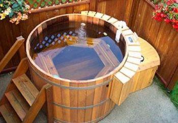 Pallet Spa Pool
