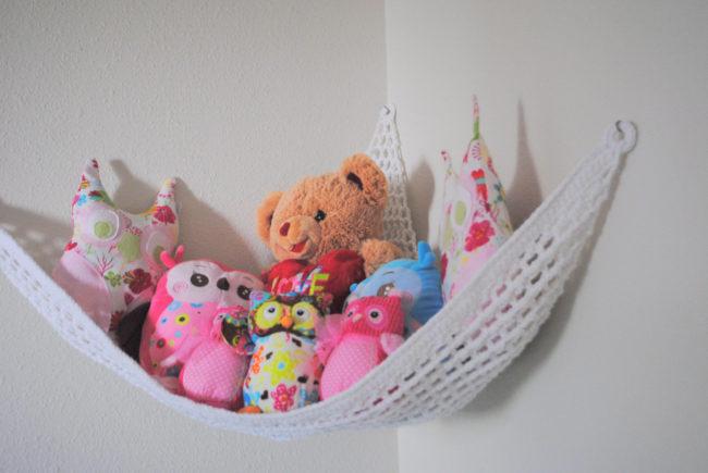White Crochet Hammock
