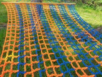 crochet paracord hammock