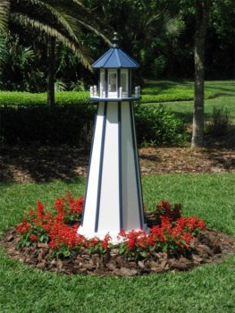 garden lighthouse