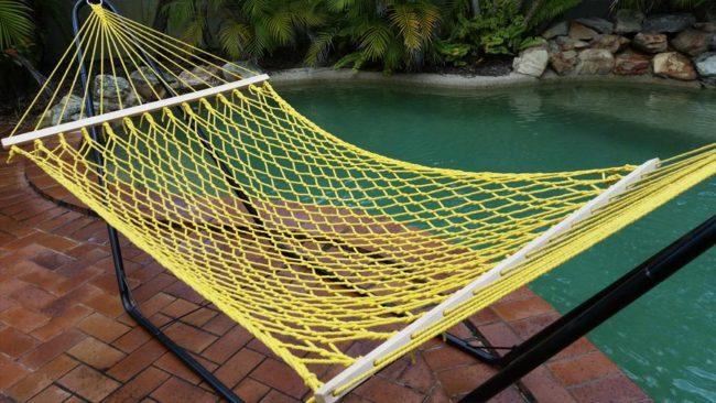 large paracord hammock