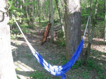paracord camping hammock