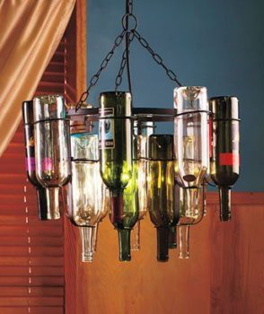 Buy a Wine Bottle Chandelier