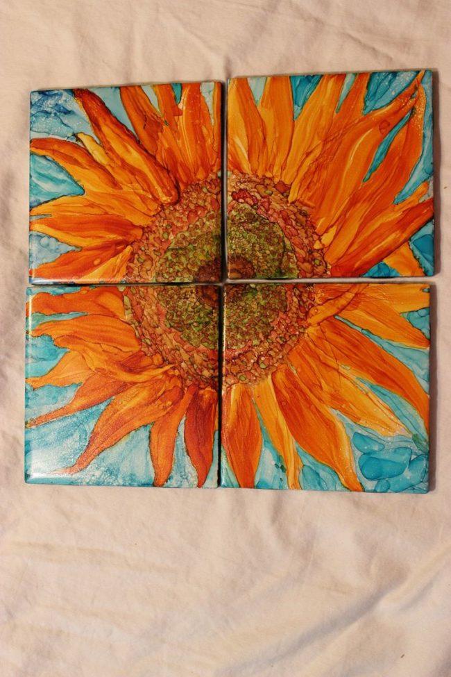 Ceramic Tile Coaster Craft