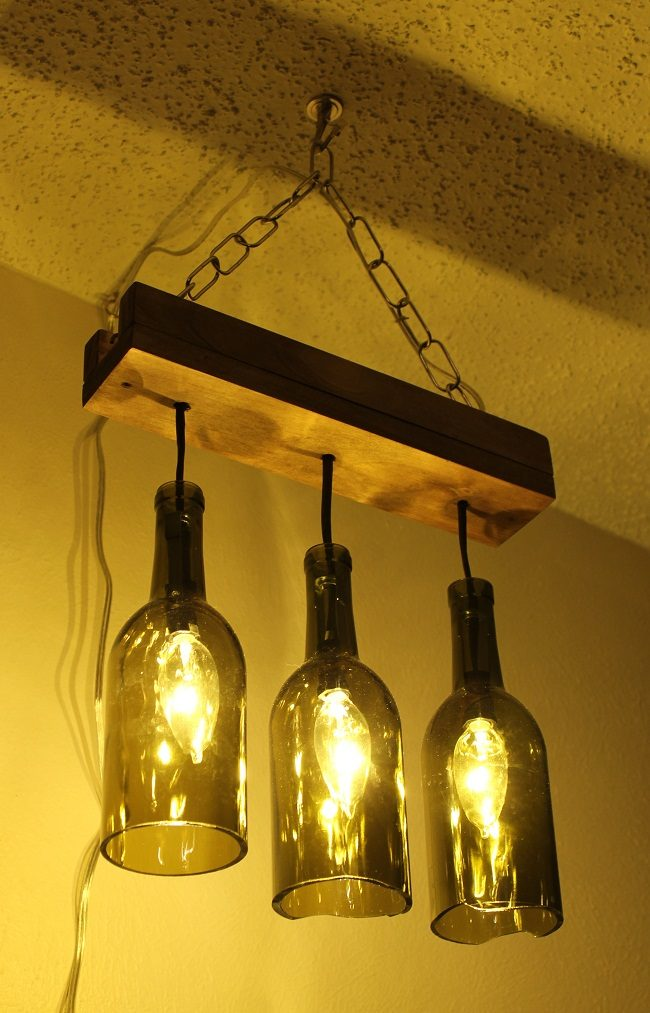 Cheap Wine Bottle Chandelier