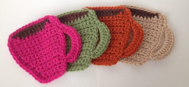 Crochet Coasters Tutorial