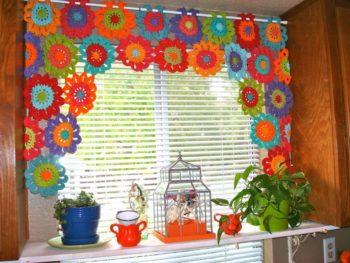 Curtain Crochet DIY. Crochet Curtains Pattern