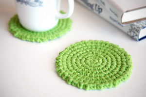 Easy Crochet Coaster for Beginners