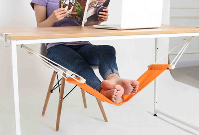 Foot Hammock DIY