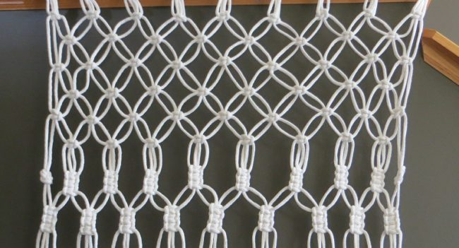 How to Make Macramé Lace Curtain