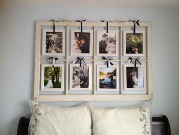 How to Make a Window Pane Picture Frame