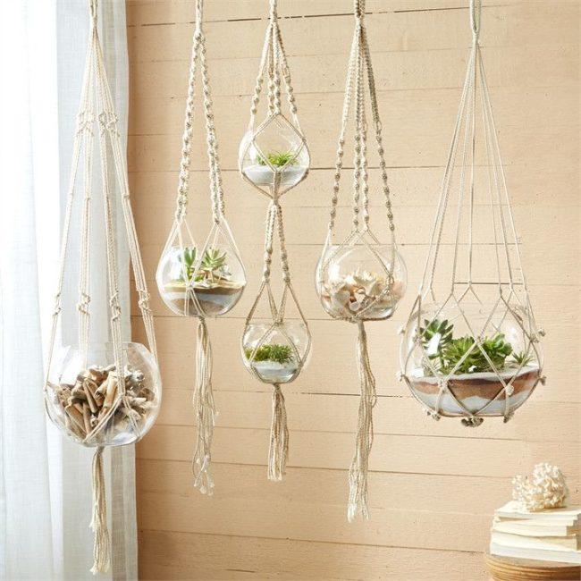 Macramé Cord For Plant Hangers