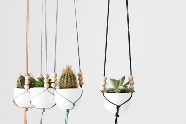 Macramé Kits For Plant Hangers