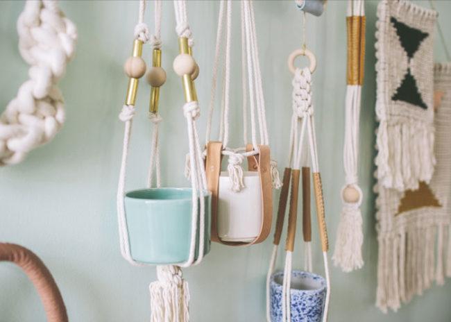 Macramé Patterns For Plant Hangers