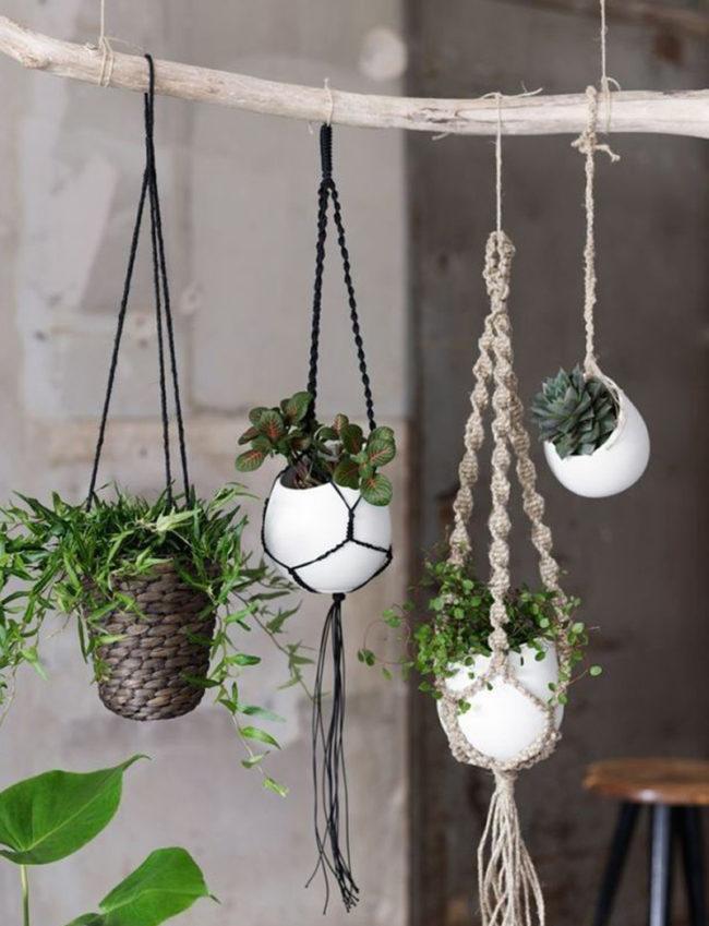 Macramé Patterns Plant Hangers