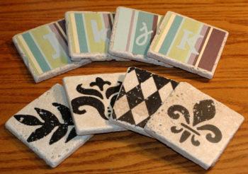 Making Tile Coasters