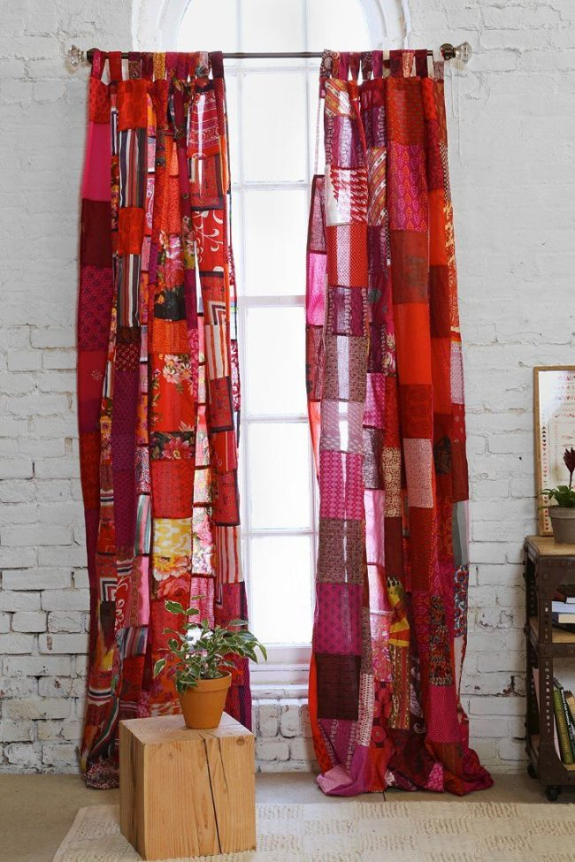 Patchwork Curtain Picture