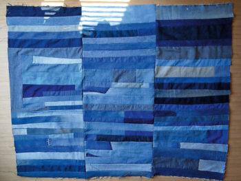 Patchwork Denim Curtains