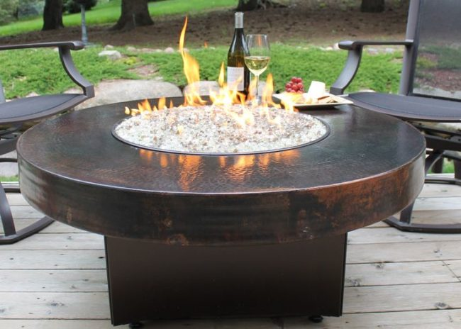 Reflecting Fire Pit