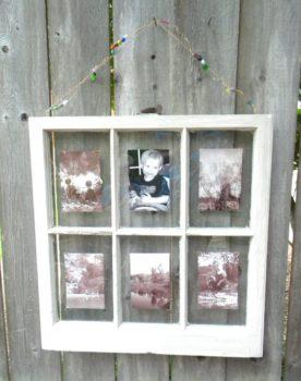 Six Pane Window Picture Frame